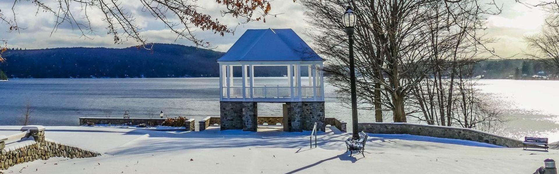 Bandstand winter